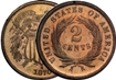 Most valuable 2 Cent US Coins