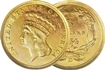 Most valuable $3 US gold coins